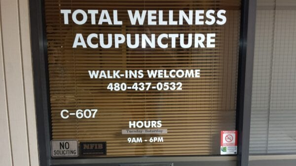 Total Wellness Acupuncture - Office Front - Phoenix, AZ